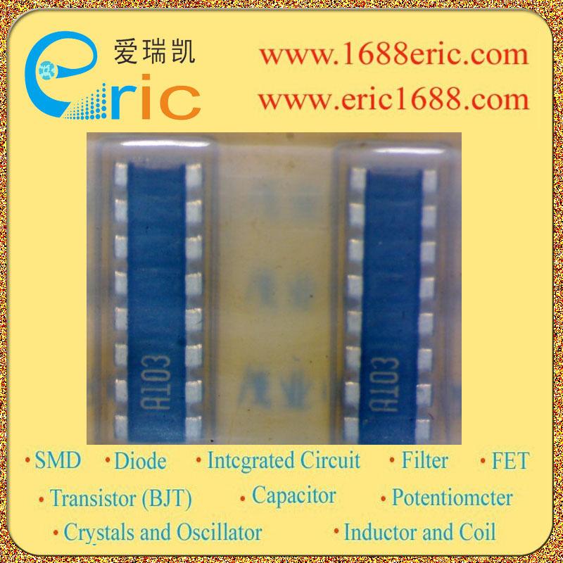 片式电阻网络 MNR35(12065大小) 特点 1)面积比常见的终端MNR38小于40%。 2)8元的结构使得MNR35理想总线上拉/下拉。 3)凸电极 易焊接完成后,检查圆角。 4)具有广泛的安装设备兼容。 5)ROHM电阻已通过ISO-9001认证。